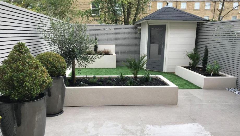 Michael partridge garden design landscapers landscape for Garden design harrogate